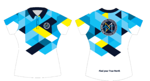 Run Zone Funky Golf Shirts F (Front & Back)