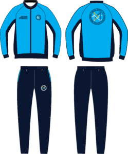 Run Zone Classic Pro Slim Fit Tracksuit M/F (Front & Back)